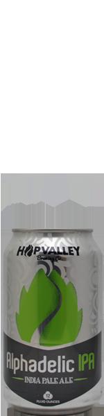 Hop Valley Alphadelic Ipa - blik
