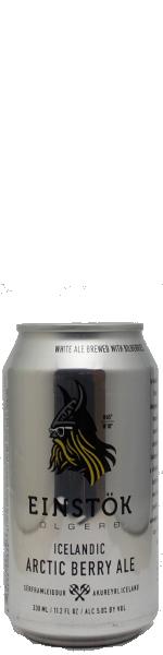 Einstok Arctic Berry Ale - blik