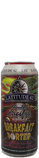 Latitude 42 South Pacific Imperial Breakfast Porter - blik