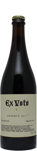 Butcher's Tears Ex Voto Reserve 2017 - old ale - 75cl