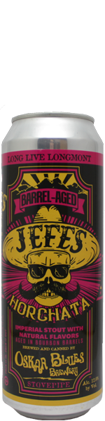 Oskar Blues Jefes Horchata Barrel-Aged Imperial Stout - blik