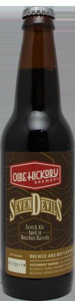 Olde Hickory Seven Devils - bourbon ba scotch ale
