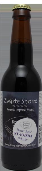 Berghoeve Zwarte Snorre Barrel Aged Staoisha Whisky