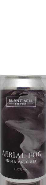 Burnt Mill Aerial Fog - blik