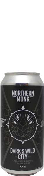 Northern Monk Dark & Wild City 2019 - chocolate brownie sundae stout