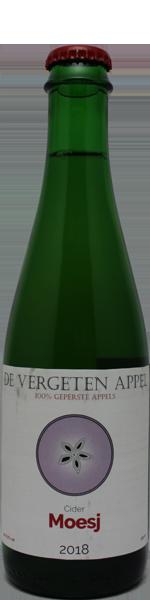 Vergeten Appel Moesj 2018 Cider