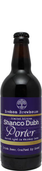 Brehon Shanco Dubh Porter Whiskey Barrel Aged