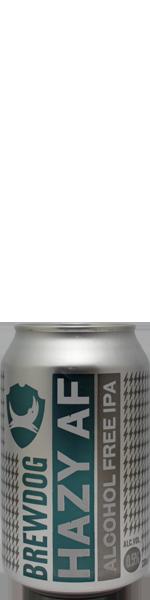 Brewdog Hazy AF - alcohol free - blik