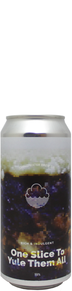 Cloudwater One Slice To Yule Them All - blik