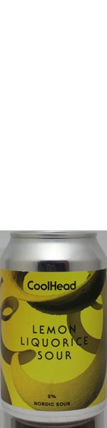 Coolhead Lemon Liquorice Sour - blik