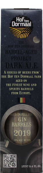 Hof ten Dormaal Dark Ale Aged in Filliers Gin Barrels 2019