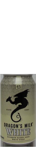 New Holland Dragon's Milk White - bourbon ba white stout - blik