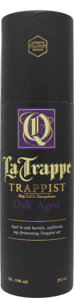 Trappist La Trappe Quadrupel Oak Aged Batch 37