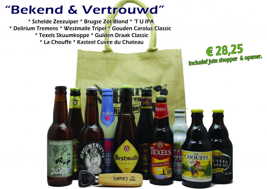 Bierpakket Bekend en vertrouwd