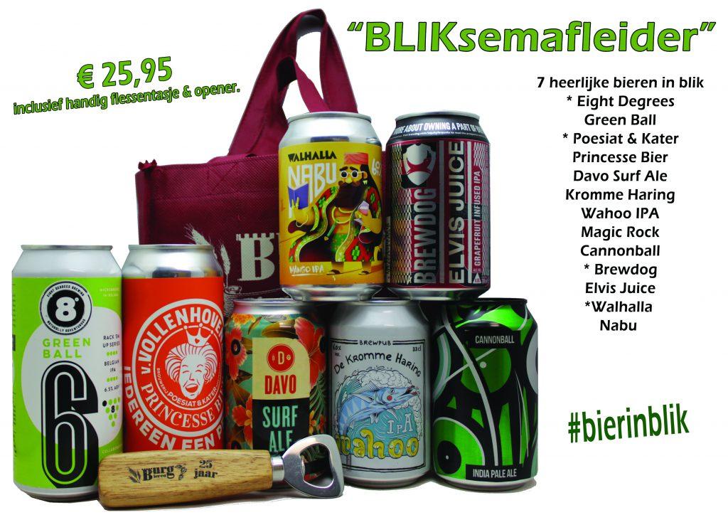 Bierpakket Bliksemafleider