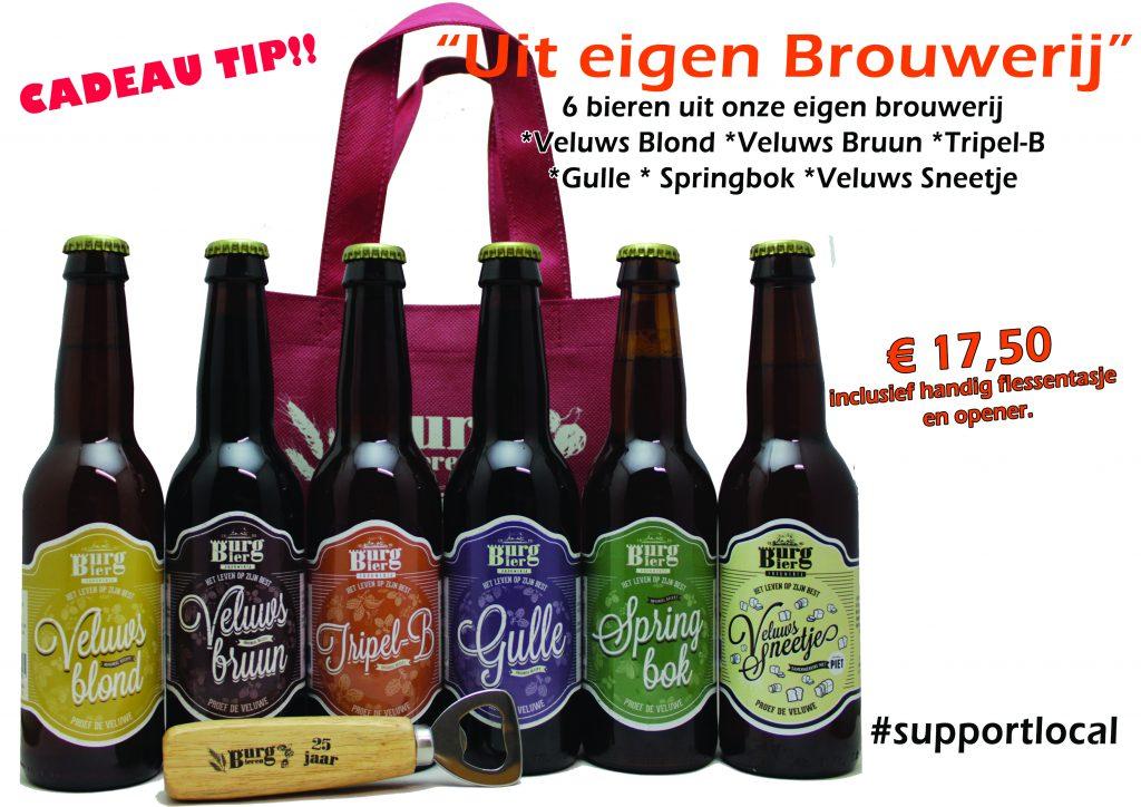 Bierpakket Eigen brouwerij