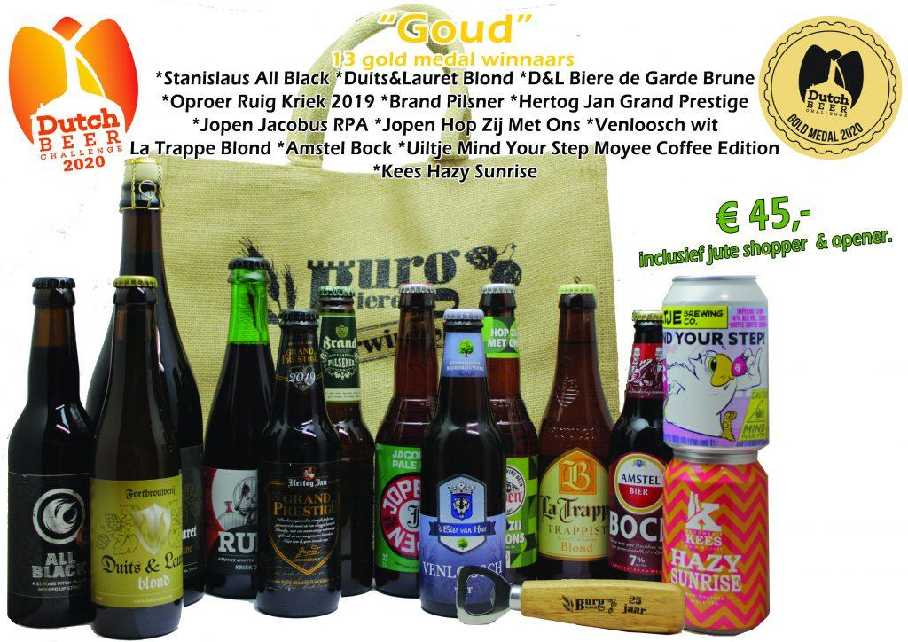 Bierpakket Goud