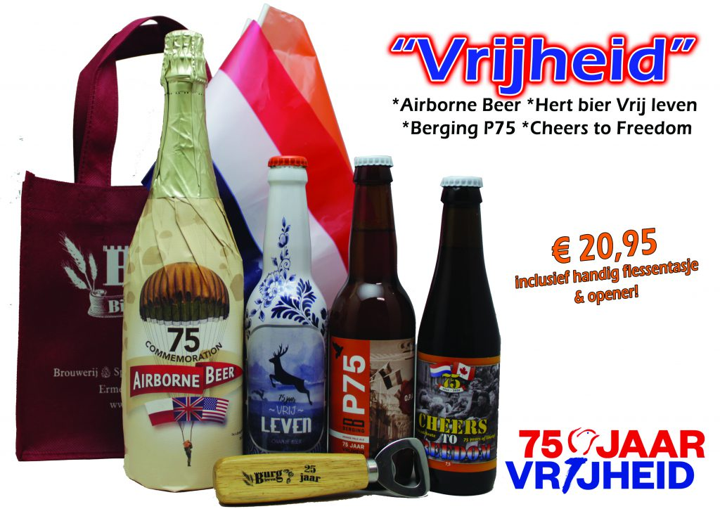 Bierpakket vrijheid