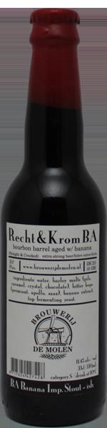 Molen Recht & Krom Bourbon BA & Banana
