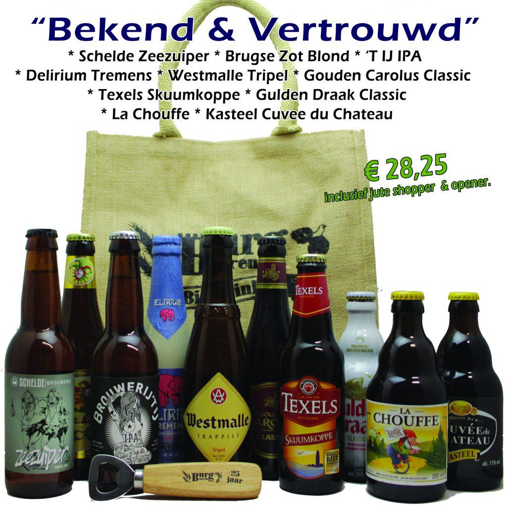 Bekend en vertrouwd bierpakket