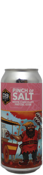 D9 Pinch of Salt White Chocolate Pretzel - blik