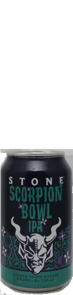 Stone Scorpion Bowl IPA - blik