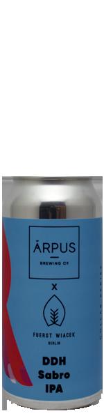 Arpus x Fuerst Wiacek DDH Sabro IPA - blik