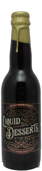 Big Belly Liquid Desserts 10 - B.A. Salted Caramel Pecan Pie Stout