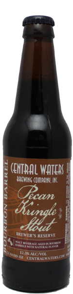 Central Waters Brewer's Reserve Bourbon Pecan Kringle Stout 2020