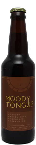 Moody Tongue Bourbon Barrel Aged Chocolate Barley Wine 2020