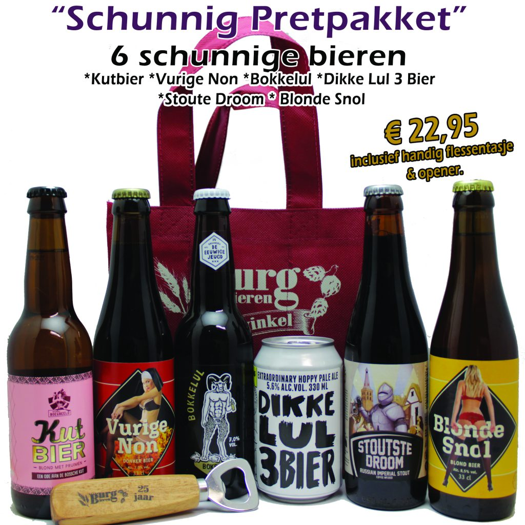 Bierpakket Schunnig Pretpakket